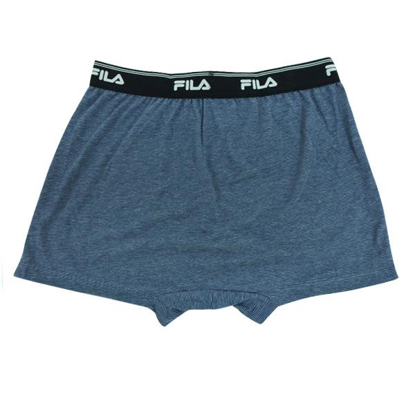FILA男條紋吸排平口褲 4